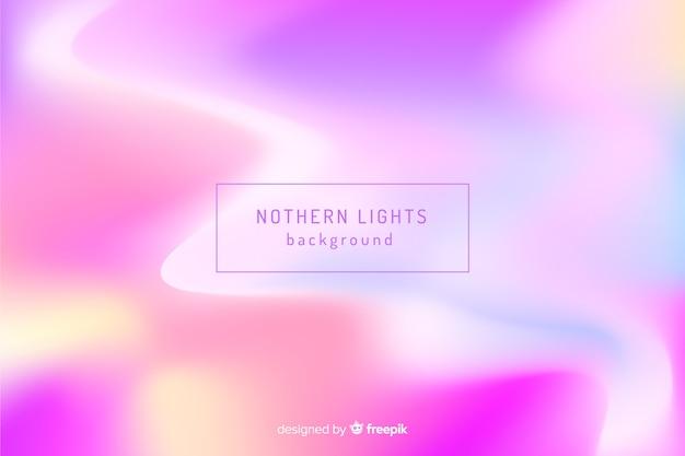 Astratto sfondo sfocato luci nordiche Vettore gratuito