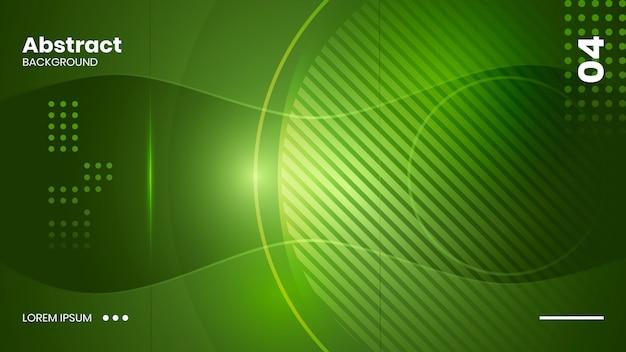 Astratto sfondo verde Vettore Premium