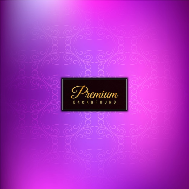Astratto sfondo viola elegante alla moda Vettore gratuito