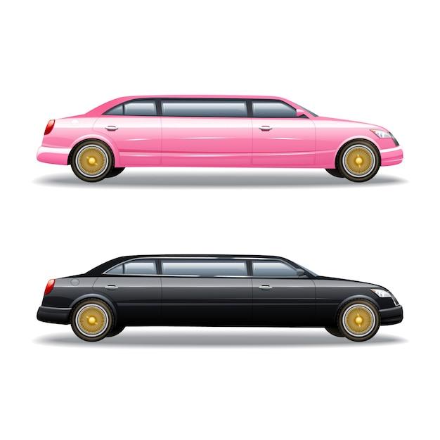 Auto di lusso in limousine Vettore gratuito