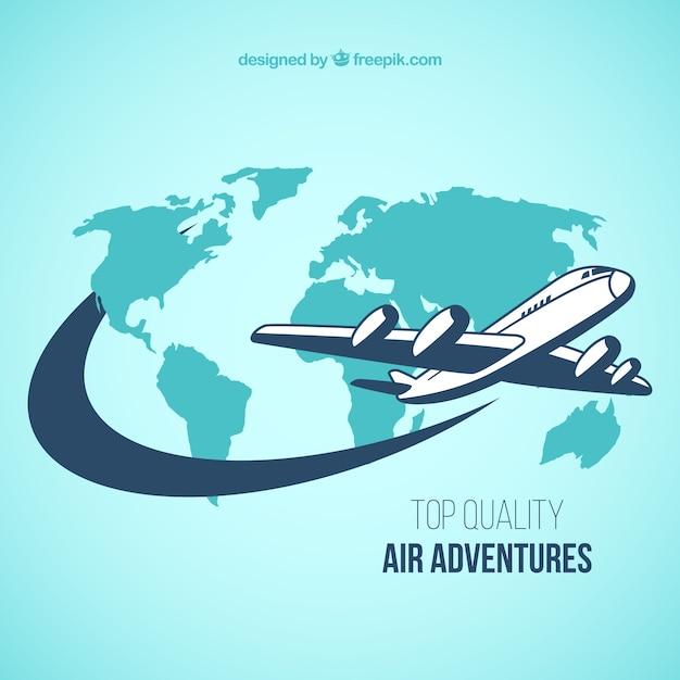 Avventure air Vettore gratuito