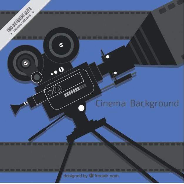 Background camera in design piatto scaricare vettori gratis for Camera blueprint maker gratuito