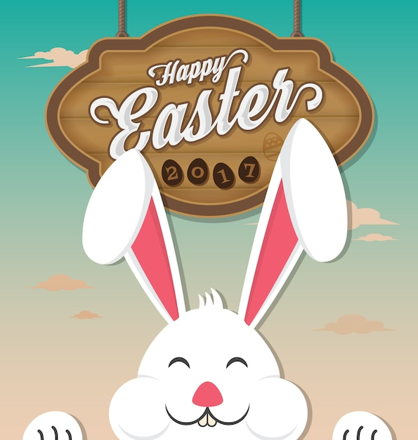 background design di Pasqua Vettore gratuito