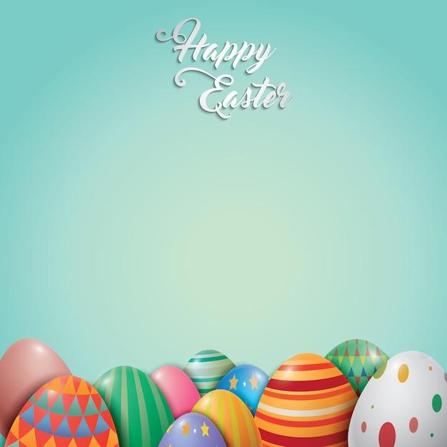 background design di Pasqua Vettore gratuito