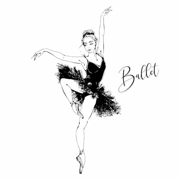 Ballerina Vettore Premium