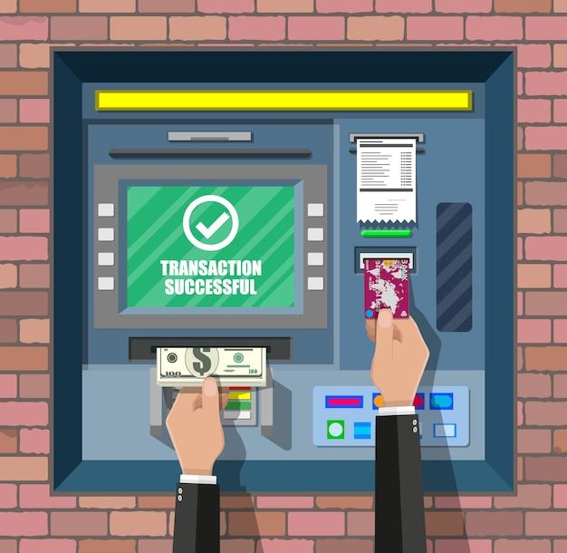 Bancomat. bancomat. Vettore Premium
