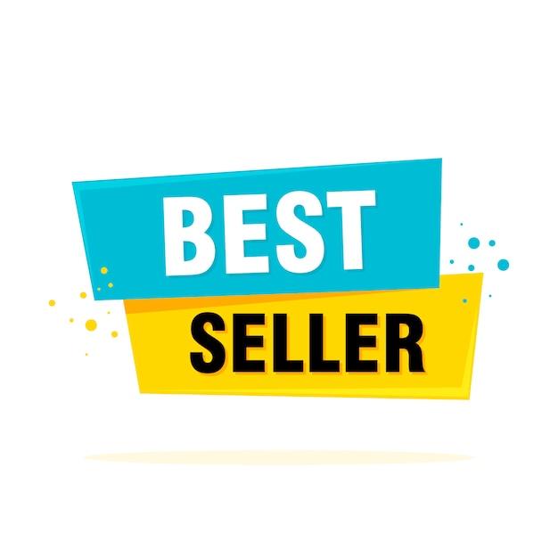 Banner del miglior venditore Vettore Premium