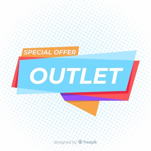 Banner di vendita speciale presa Vettore gratuito