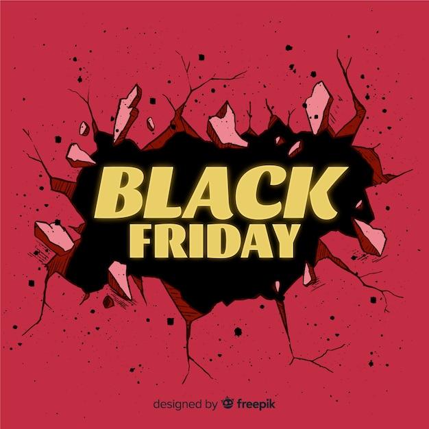 Banner di venerdì nero Vettore gratuito