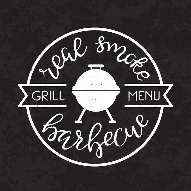 Barbecue party poster. Vettore gratuito