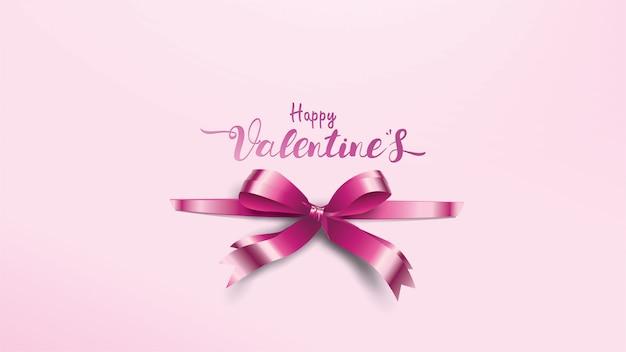 Bellissimo sfondo di san valentino Vettore Premium