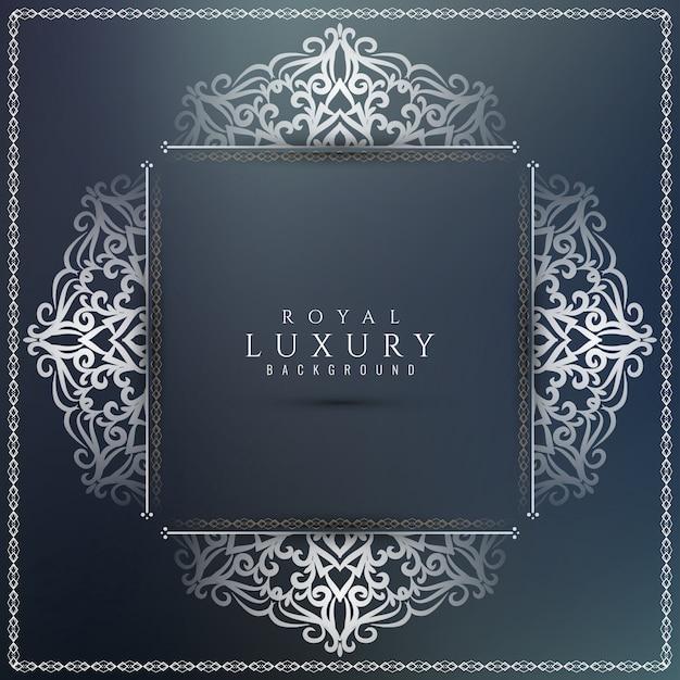 Bello fondo di lusso elegante astratto Vettore gratuito
