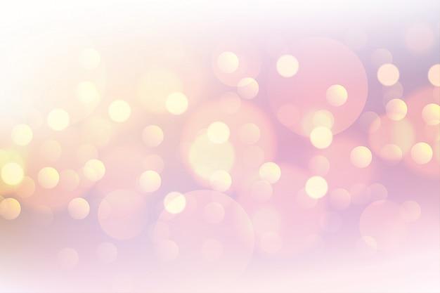 Bello fondo vago morbido del bokeh rosa Vettore gratuito