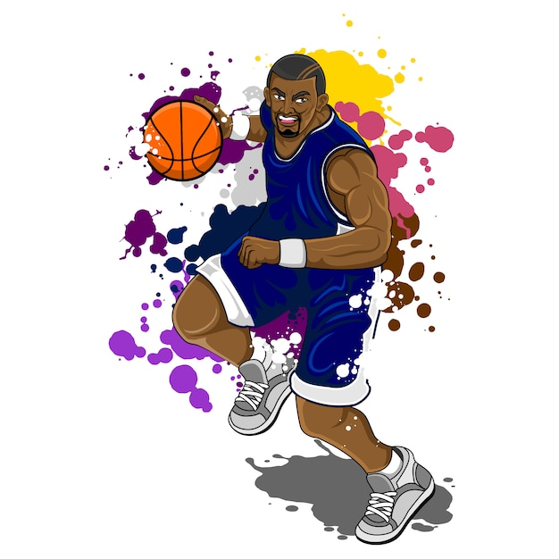 Big man basketball Vettore Premium