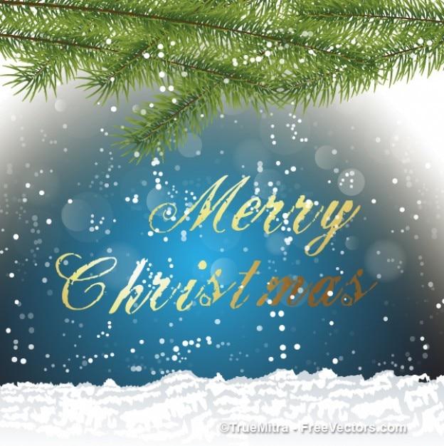 Foto Di Natale Con Auguri.Biglietto Di Auguri Di Natale Con I Fiocchi Di Neve