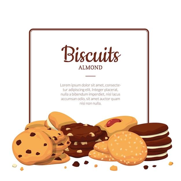 Biscotti del telaio Vettore Premium