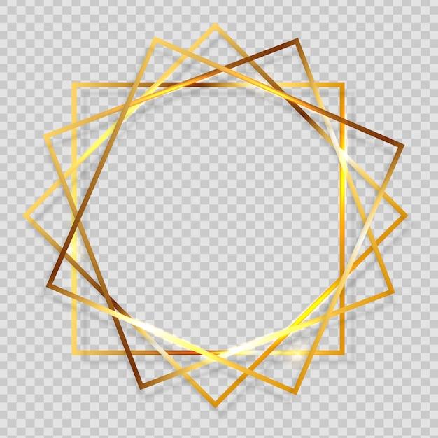 Blocco per grafici strutturato scintillante della vernice dell'oro su priorità bassa trasparente Vettore Premium