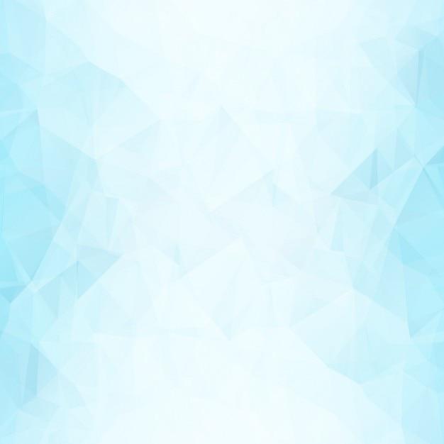 Blue forme poligonali sfondo Vettore gratuito