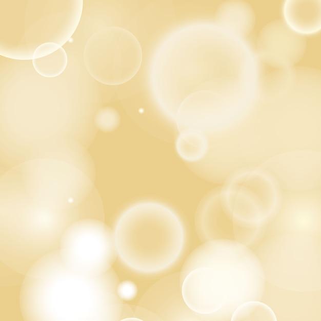 Bokeh caldo sfocato sullo sfondo Vettore gratuito