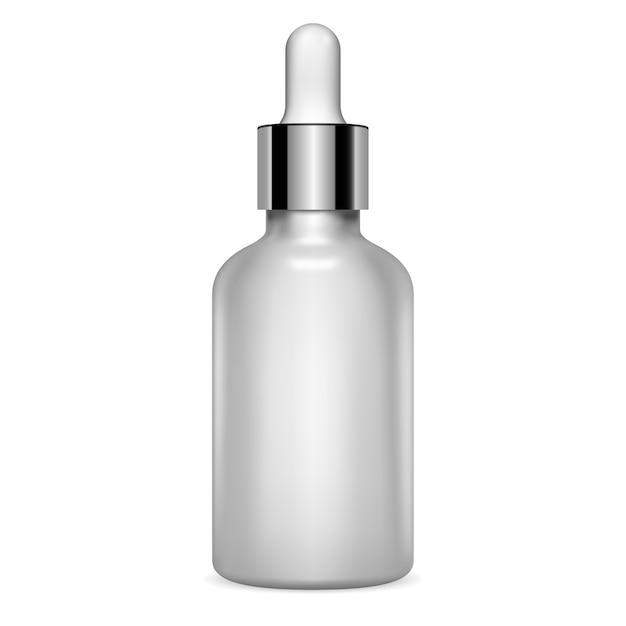 Bottiglia di siero contagocce Vettore Premium