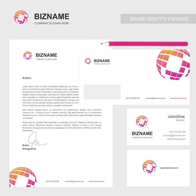 Brochure aziendale dal design elegante Vettore gratuito