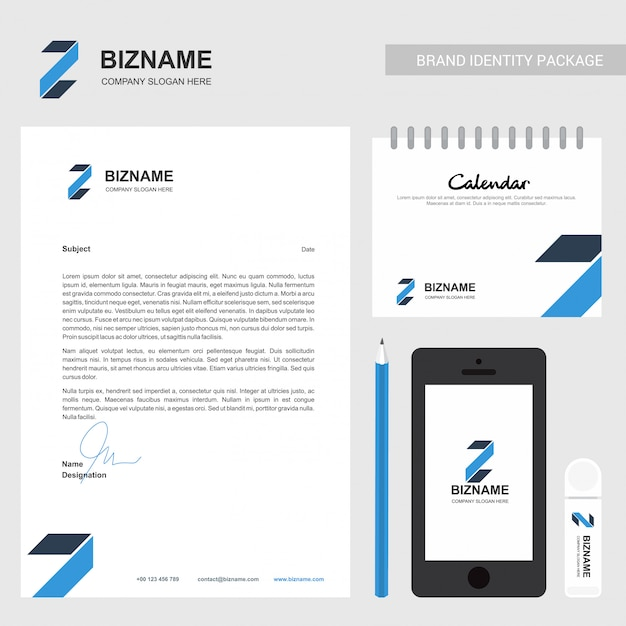 Brochure aziendale e design fisso Vettore gratuito
