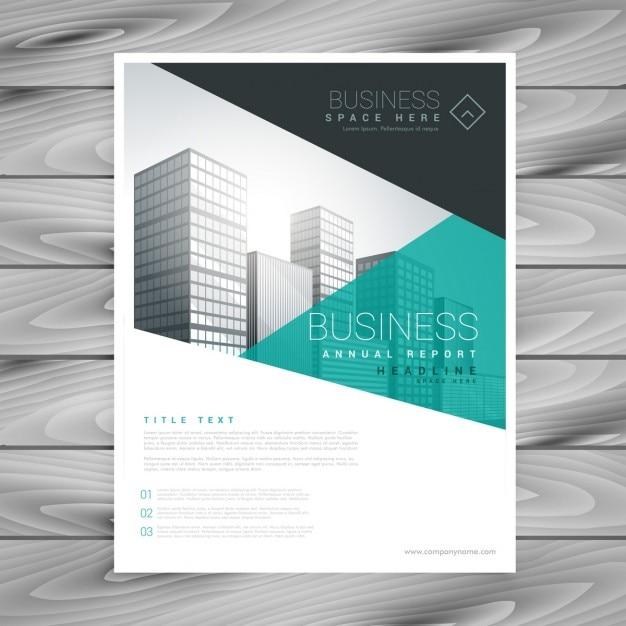 brochure formato di presentazione del modello volantino scaricare