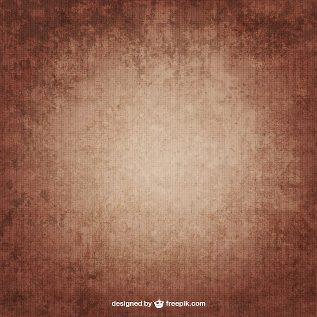 Brown grunge texture Vettore Premium