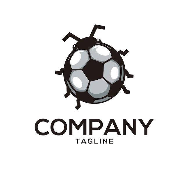 Bug logo Vettore Premium