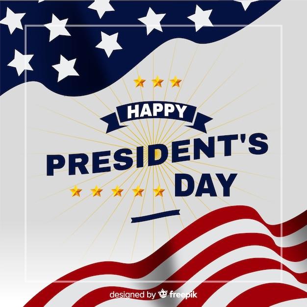 Buon giorno del presidente Vettore gratuito