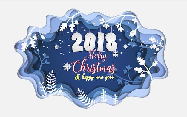 natale 2018 giorno Buon giorno di Natale e Capodanno 2018 | Scaricare vettori Premium natale 2018 giorno
