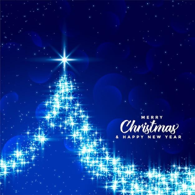 Buon natale e felice anno nuovo auguri Vettore gratuito