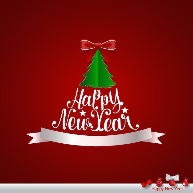 Buon natale e felice anno nuovo biglietto di auguri ...