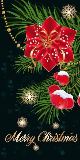 Immagini Buon Natale Gratis.Buon Natale Lettering Con Stella Di Natale Scaricare
