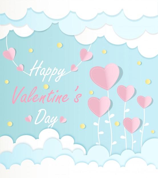 Buon san valentino Vettore Premium