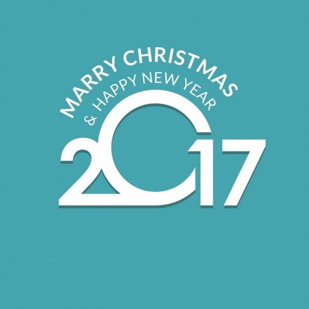 Buon Seasons Greetings 2017 anno | Scaricare vettori gratis