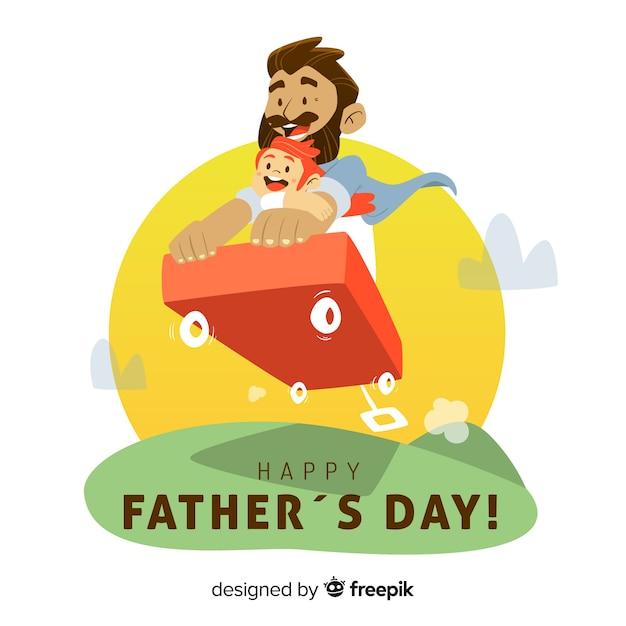 Buona festa del papà Vettore gratuito