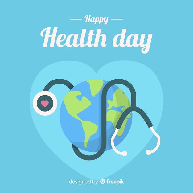 Buona giornata della salute Vettore gratuito