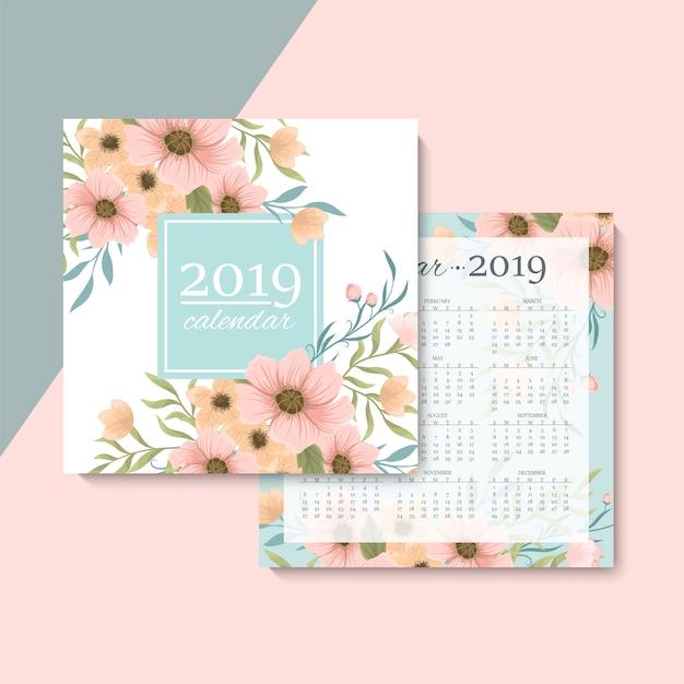 Calendario Vettore gratuito