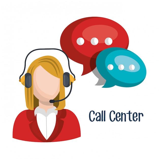 Call center Vettore gratuito