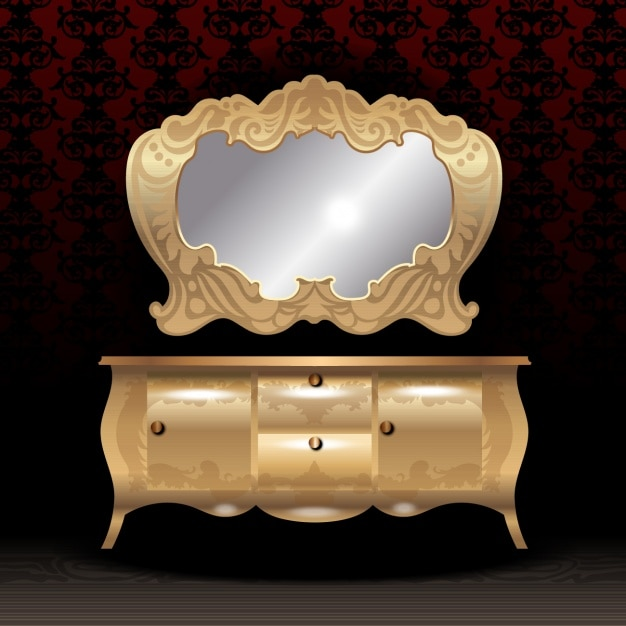 Camera da letto mobili di lusso scaricare vettori gratis - Camera da letto lusso ...