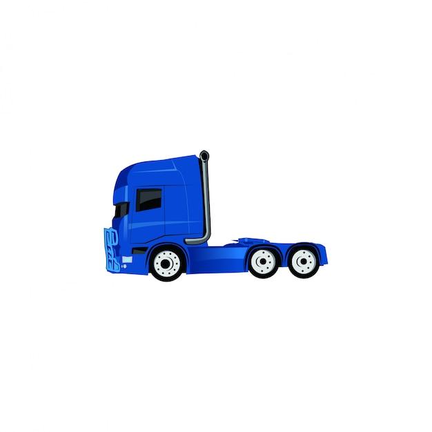 Camion di testa Vettore Premium