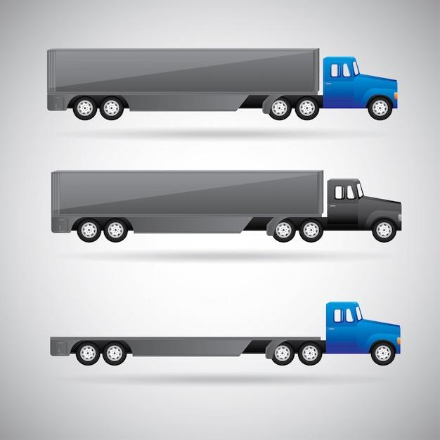 Camion per la consegna Vettore gratuito