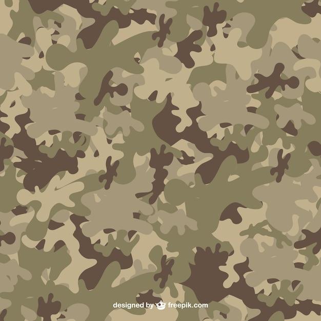 Camouflage pattern Vettore gratuito