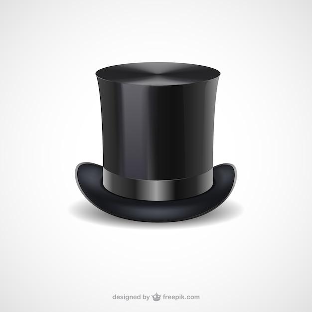 cerca l'autorizzazione stile moderno il migliore Cappello a cilindro nero | Scaricare vettori gratis
