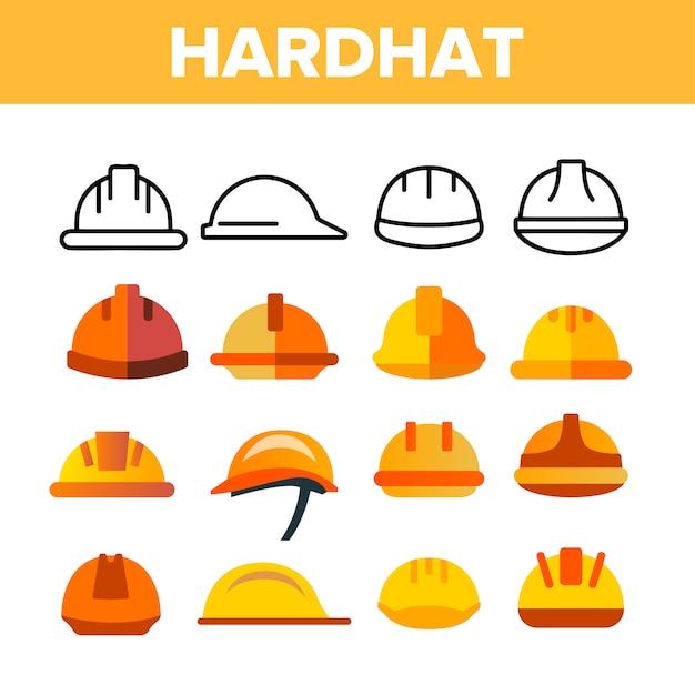 Cappello rigido protettivo Vettore Premium