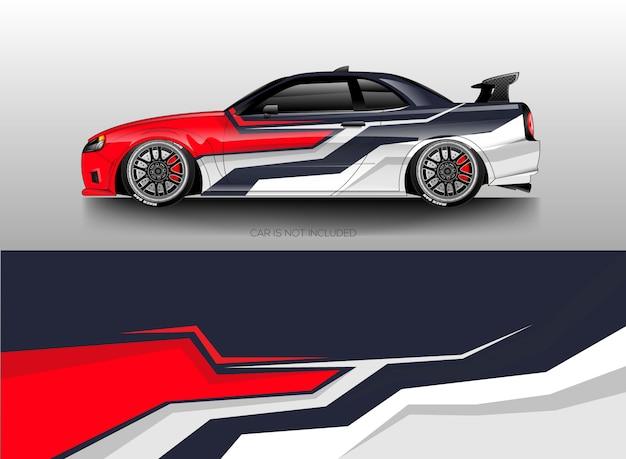 Car Wrap Disegni Vettoriali Scaricare Vettori Premium