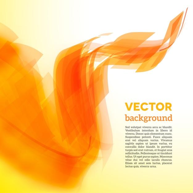 Carta a spirale con bordo sfocato Vettore Premium