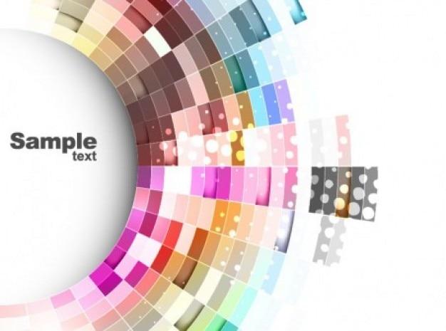 Carta da parati curva colorata scaricare vettori gratis for Carta da parati colorata