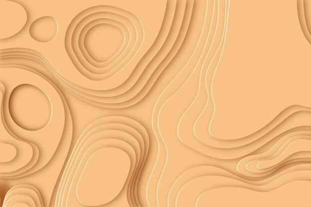 Carta da parati mappa topografica minimalista Vettore gratuito